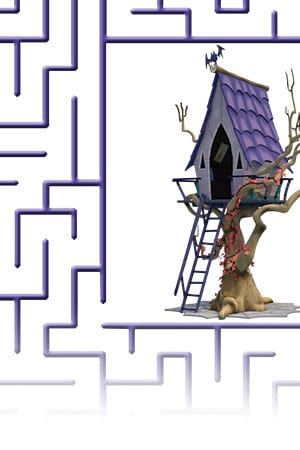 Spooky Maze