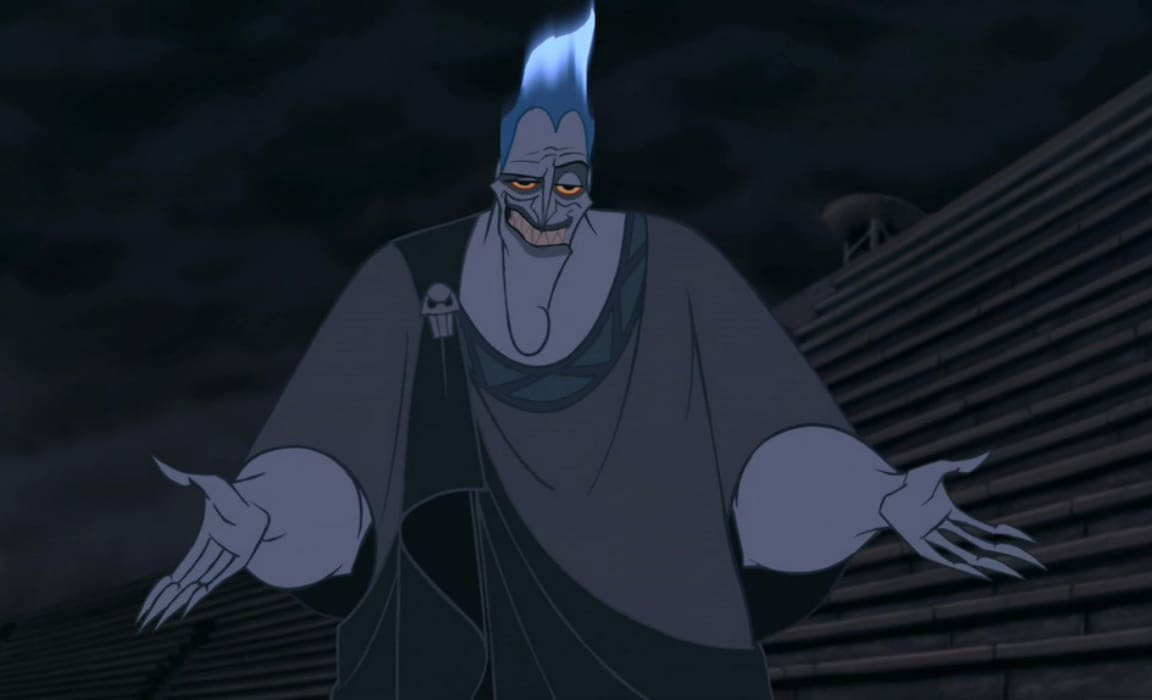 Hades from Hercules features in the Disney Plus villains Hallowstream collection.