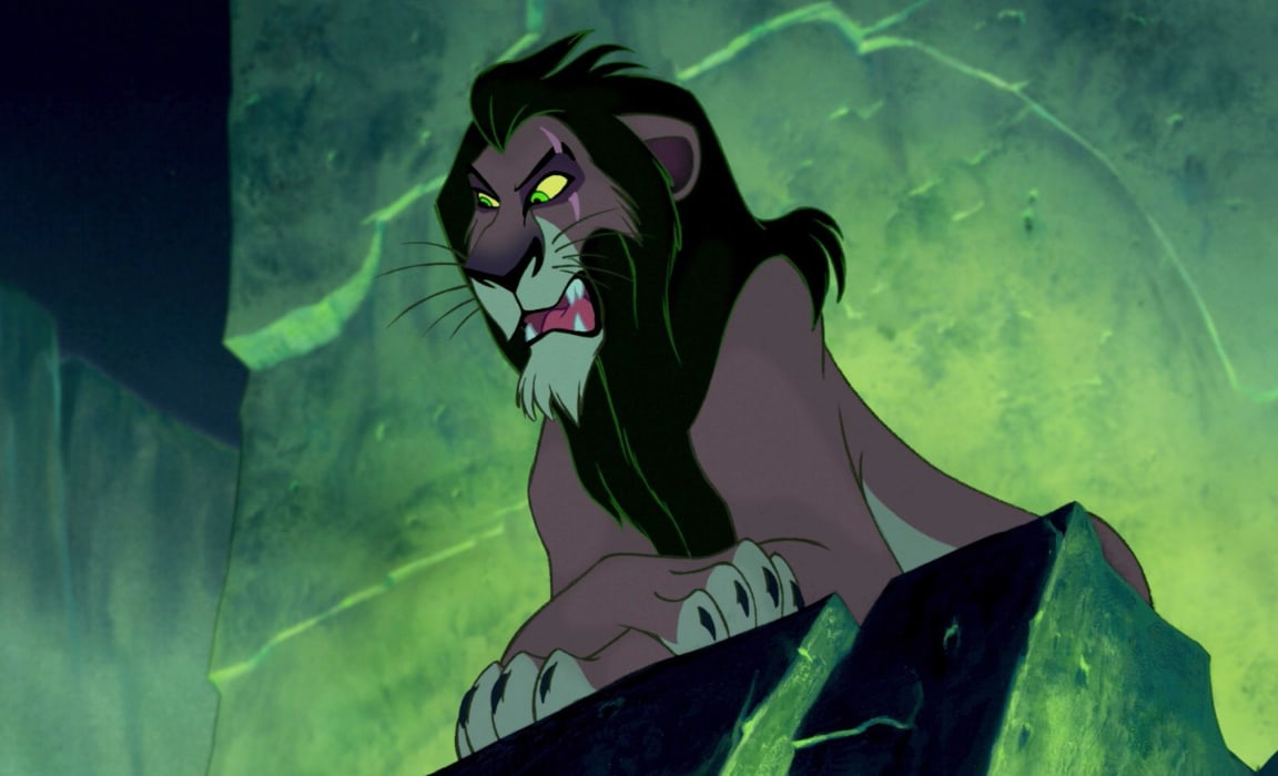 Scar from The Lion King features in the Disney Plus villains Hallowstream collection.