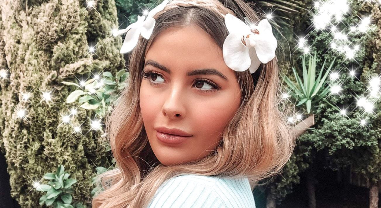 Get your glow on with an Aurora-inspired beauty look by Karla Roccuzzo