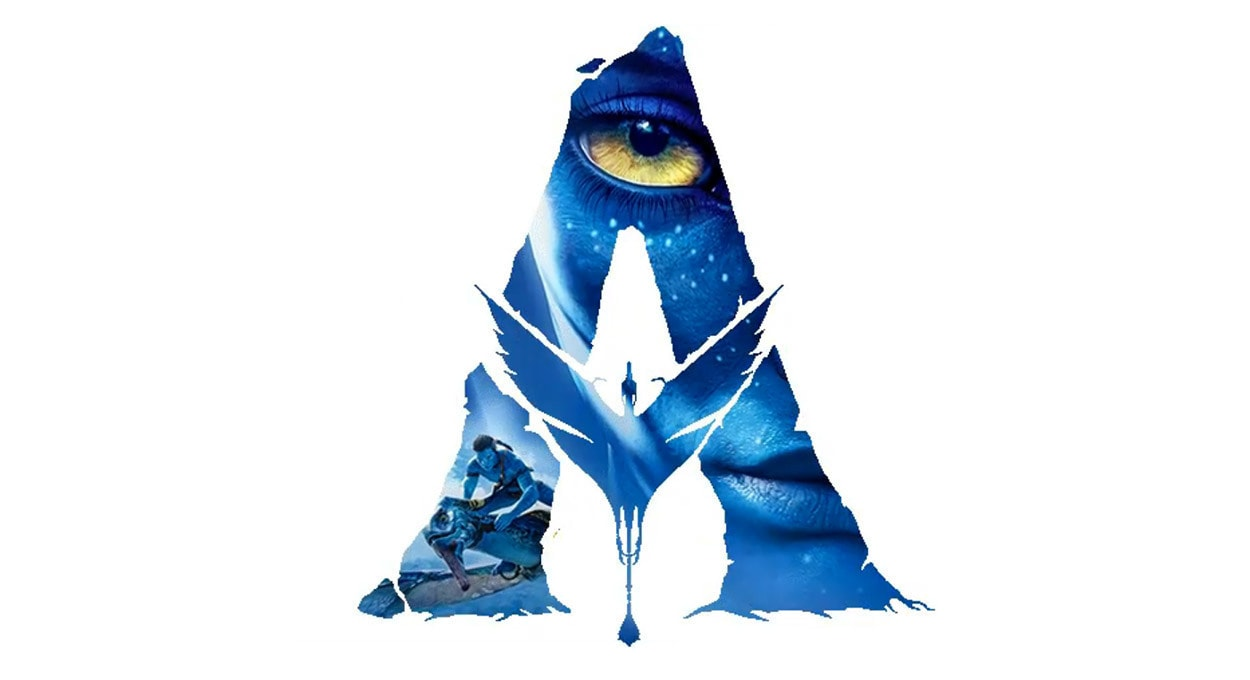 """Avatar """"A"""" Logo with film imagery"""