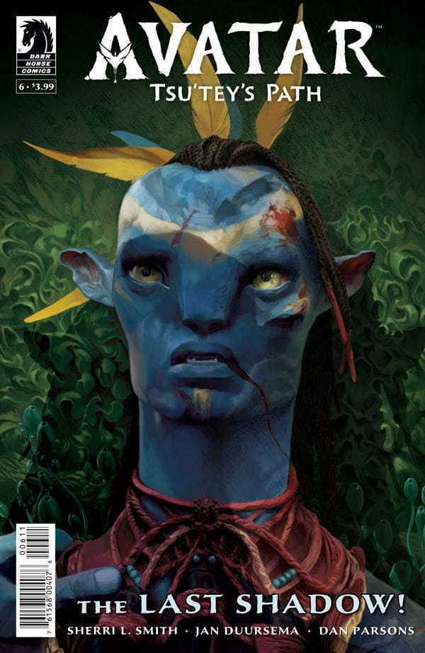 Tsu'tey's Path #6 Cover Art