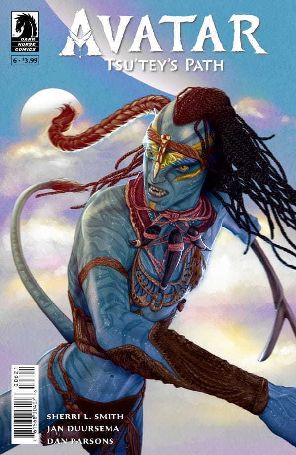 Tsu'tey's Path #6 Variant Cover Art