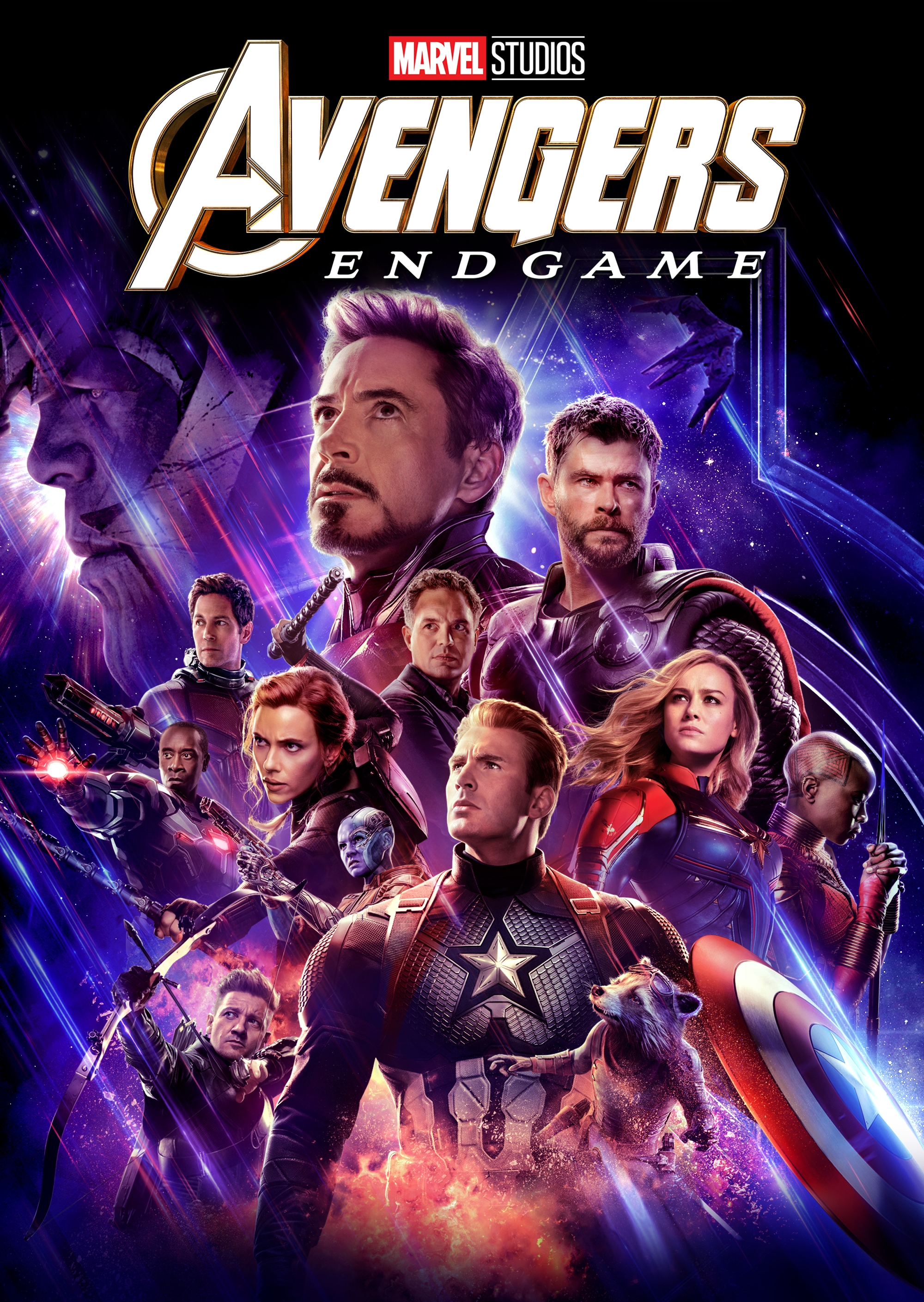 Avengers: End Game on Disney+