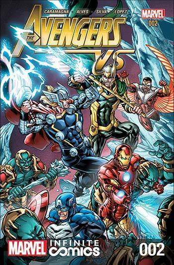 Avengers VS Infinite Comic #2