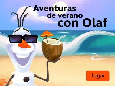 Aventuras de verano con Olaf
