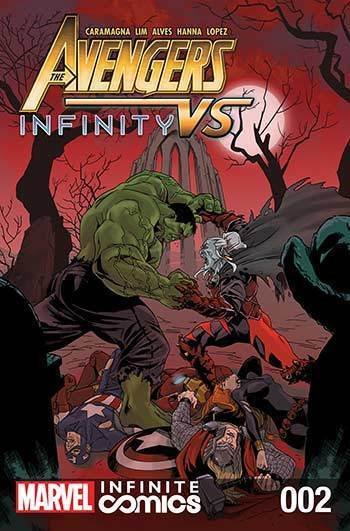 Avengers Vs Infinity Infinite Comic #2