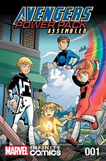 Avengers and Power Pack #01