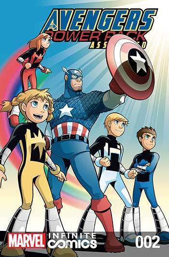 Avengers and Power Pack #02
