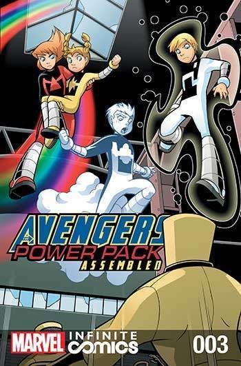 Avengers and Power Pack #03
