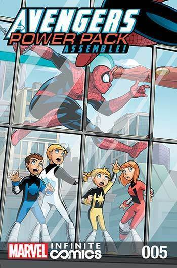 Avengers and Power Pack #05