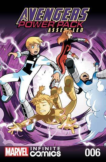 Avengers and Power Pack #06