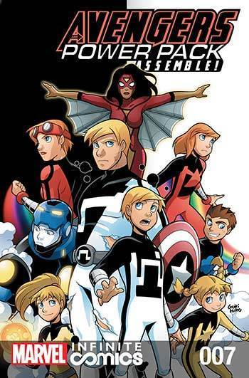 Avengers and Power Pack #07