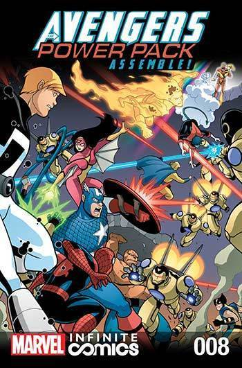 Avengers and Power Pack #08