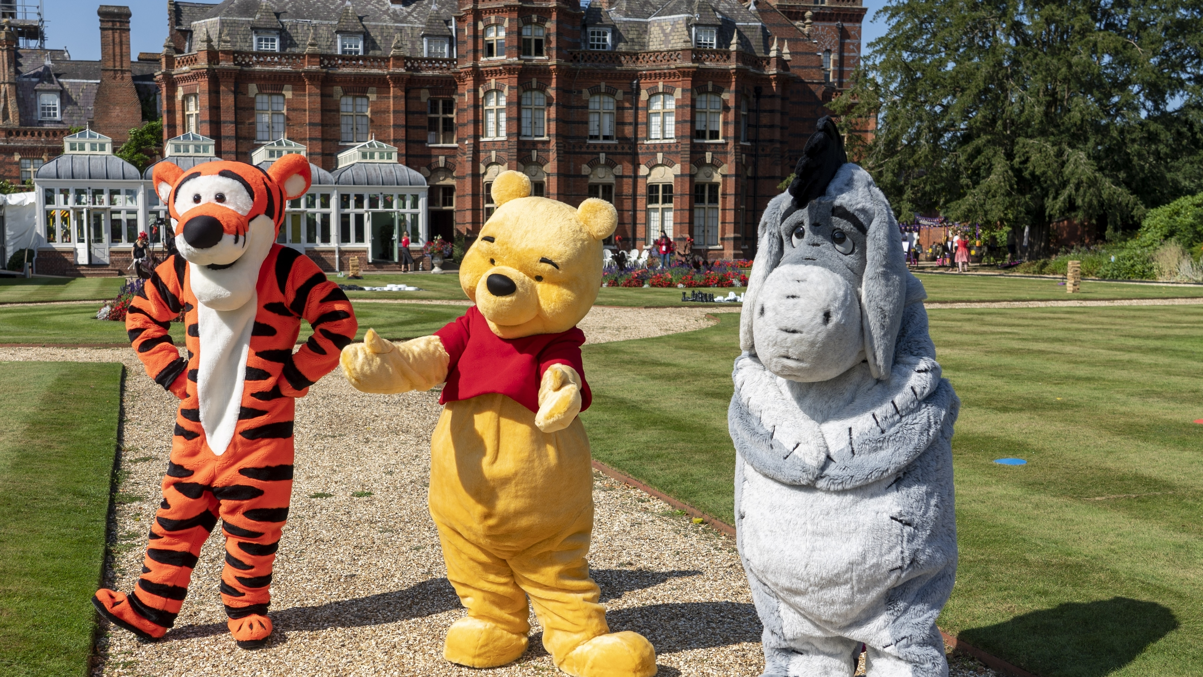 Tigger, Winnie the Pooh and Eeyore