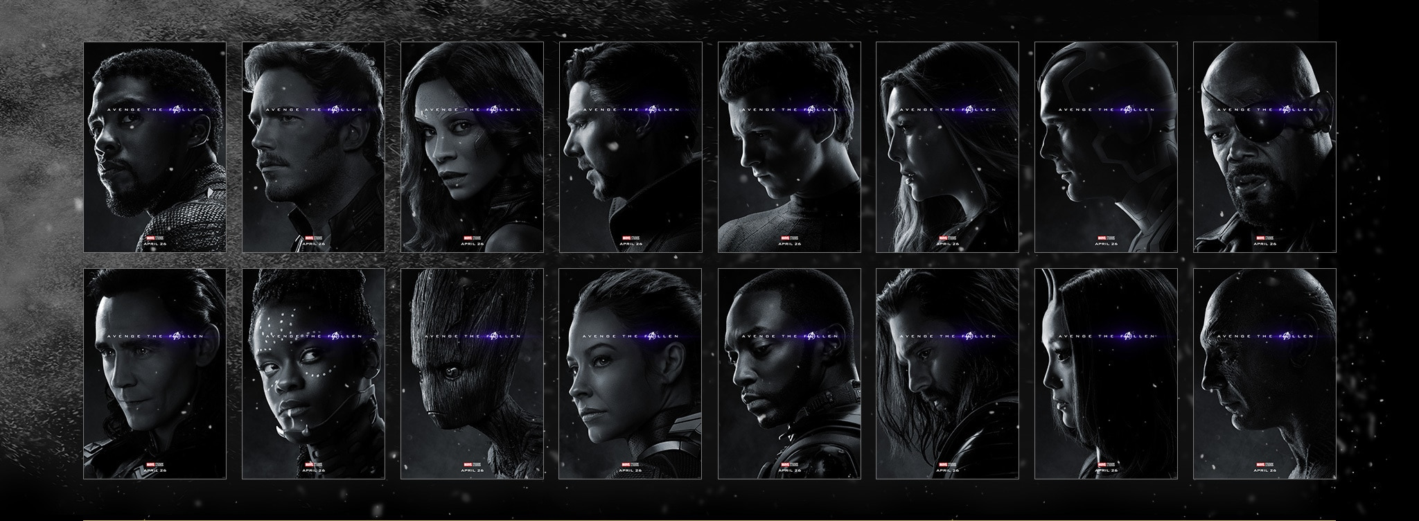 Avenge the Fallen - Marvel Studios - April 26