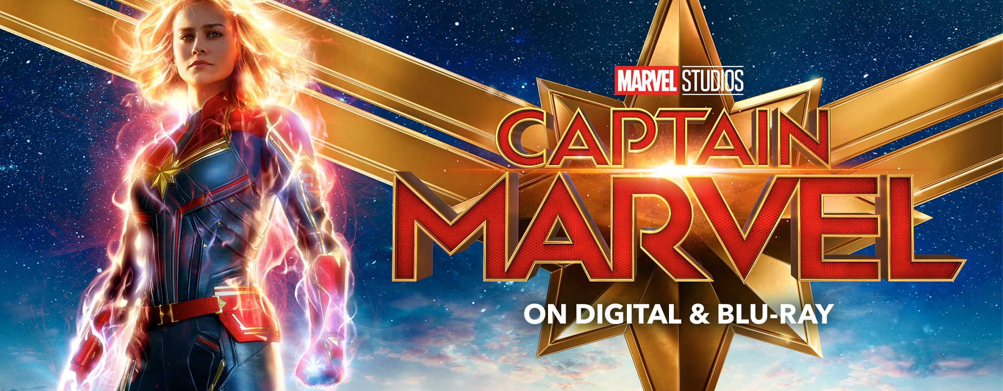 Marvel Studios - Captain Marvel - On Digital & Blu-ray