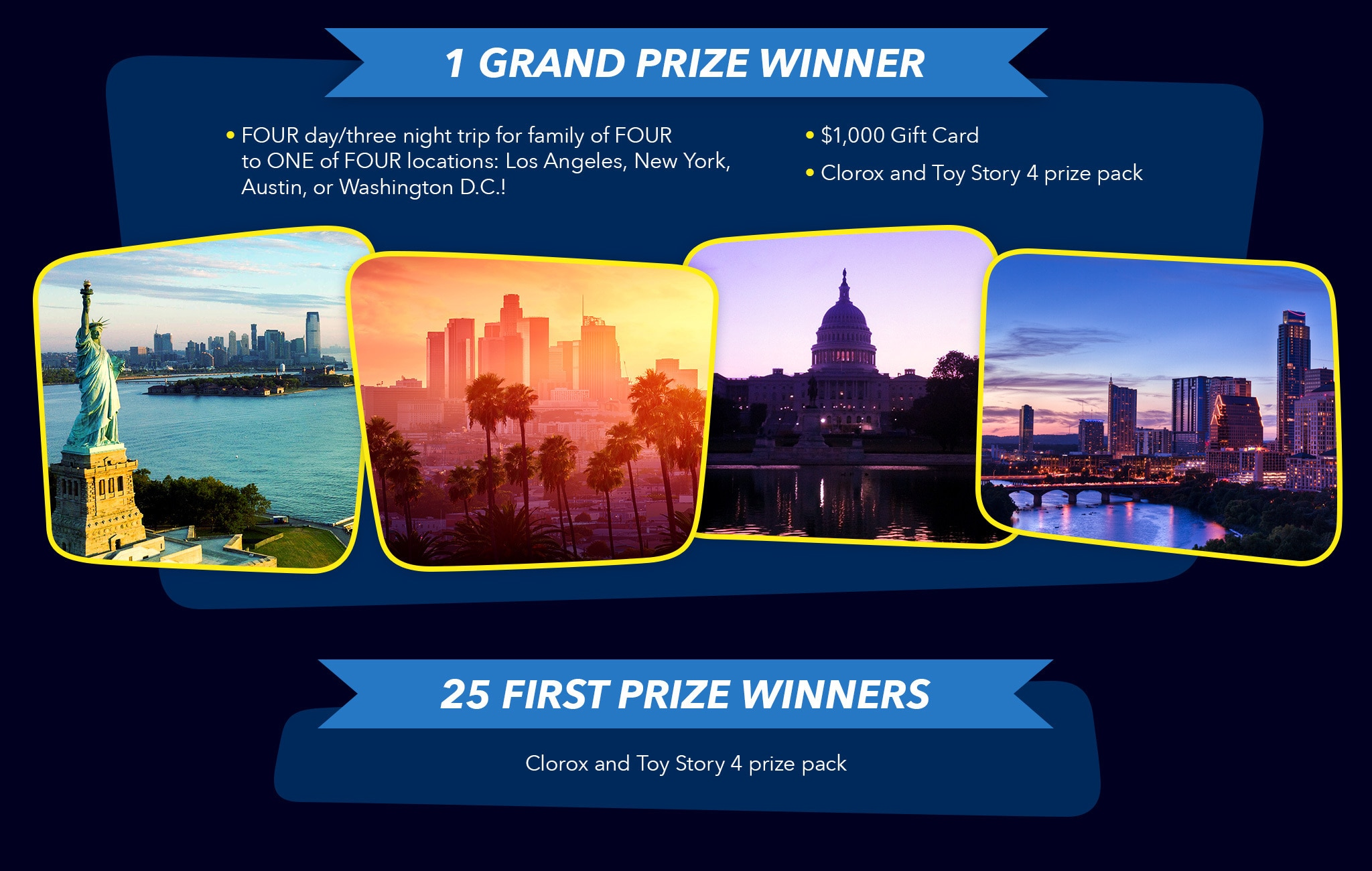 Toy Story 4 Family Vacation Sweepstakes | Disney Partners