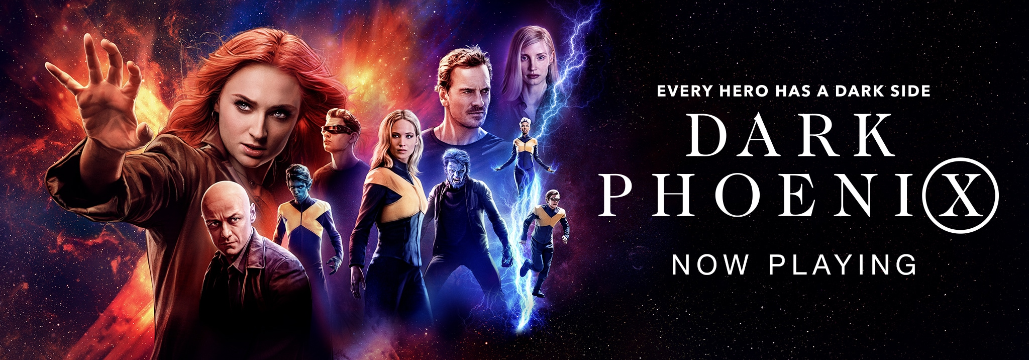 Every Hero Has A Dark Side - Dark Phoenix - Now Playing