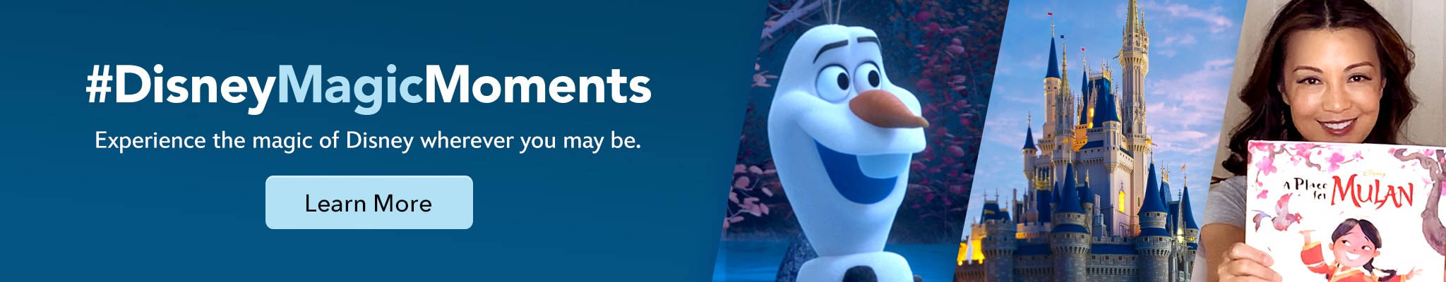 #DisneyMagicMoments - Experience the magic of Disney wherever you may be.