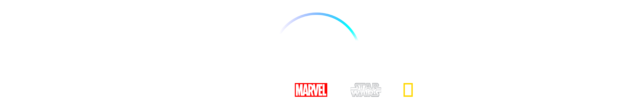 Disney+. Disney, Pixar, Marvel, Star Wars, and National Geographic.