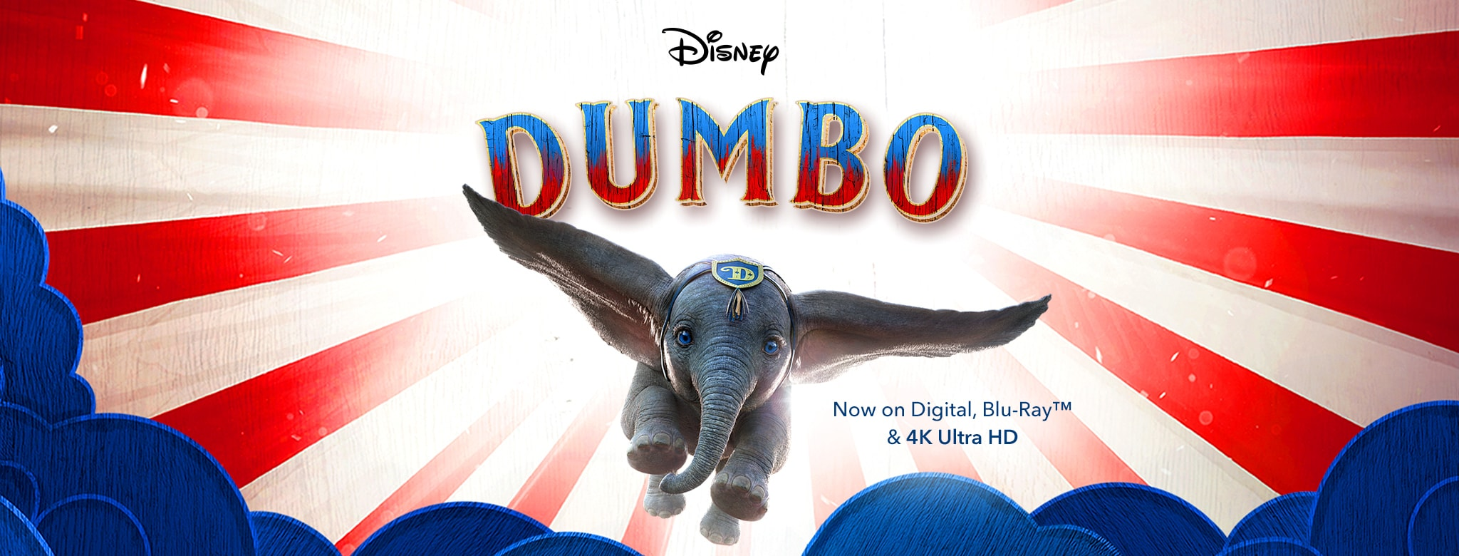 Disney Dumbo - Now On Digital, Blu-Ray and 4K Ultra HD