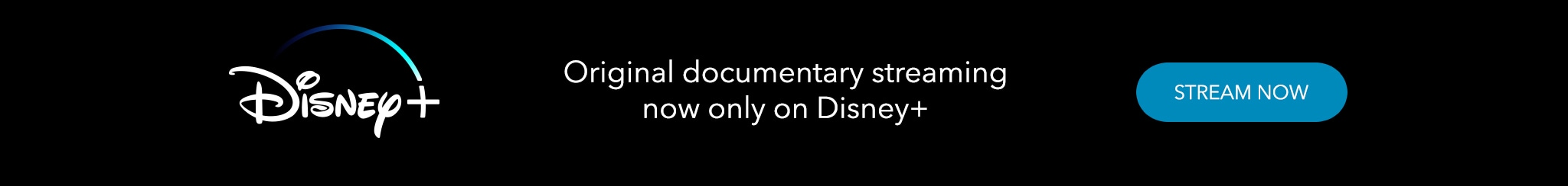 Original documentary streaming now only on Disney+. Stream now.