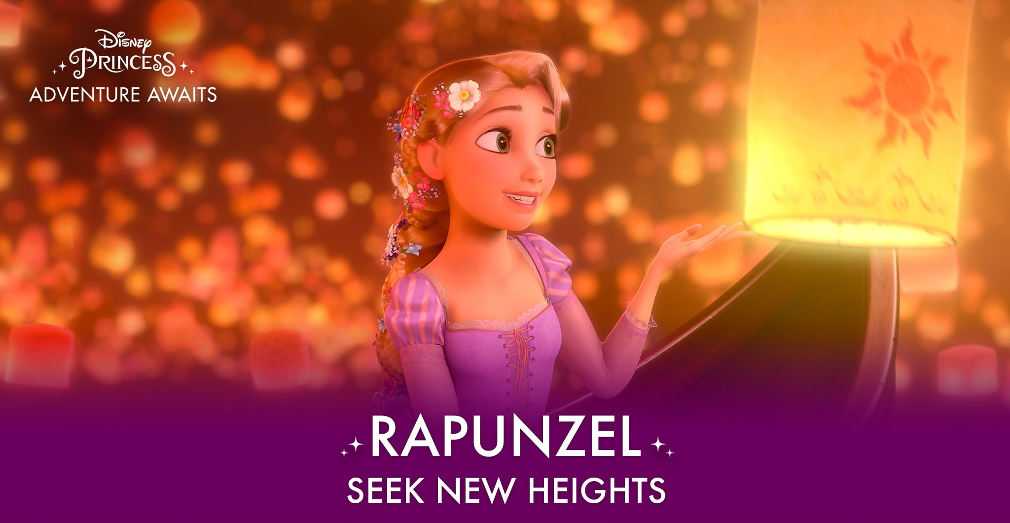 Rapunzel - Seek New Heights