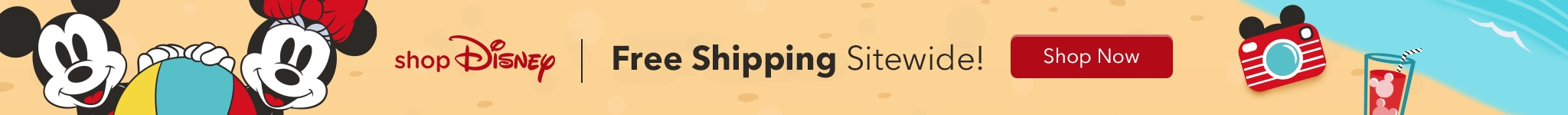 ShopDisney: Free Shipping Sitewide! Shop Now