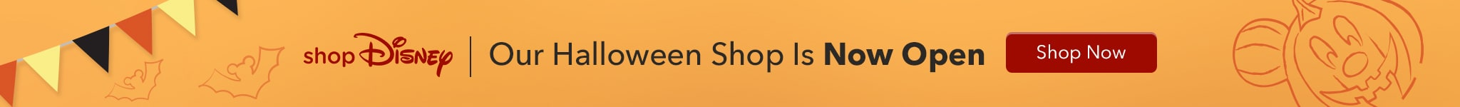 shopDisney Our Halloween Shop Is Now Open