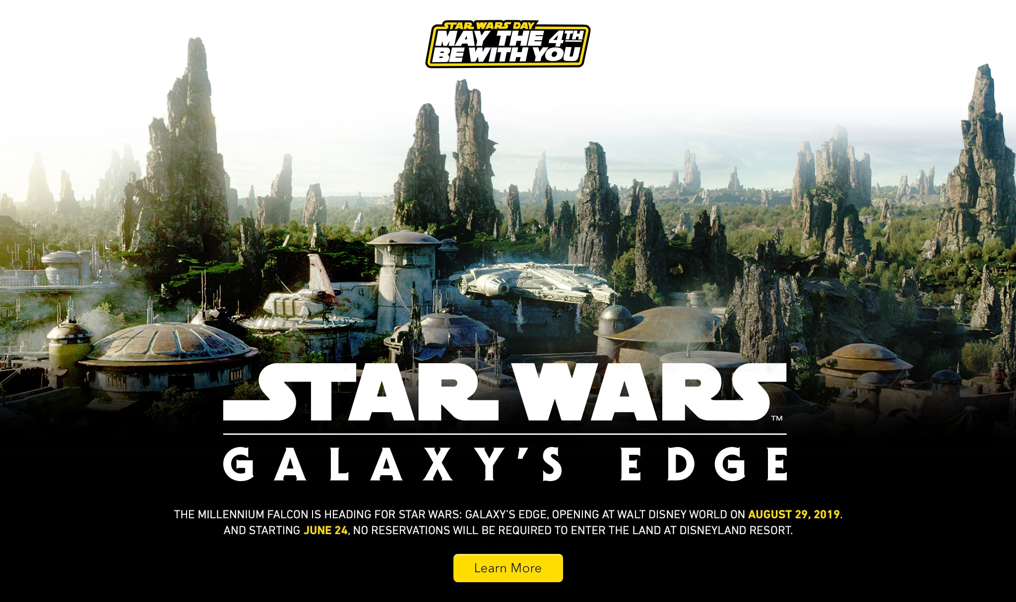 644168c9903 Star Wars Day May the 4th Be With You. Star Wars Galaxy s Edge. The