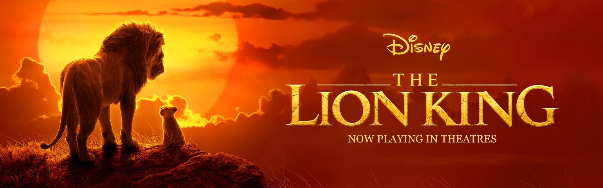 The Lion King Now Playing In Theatres