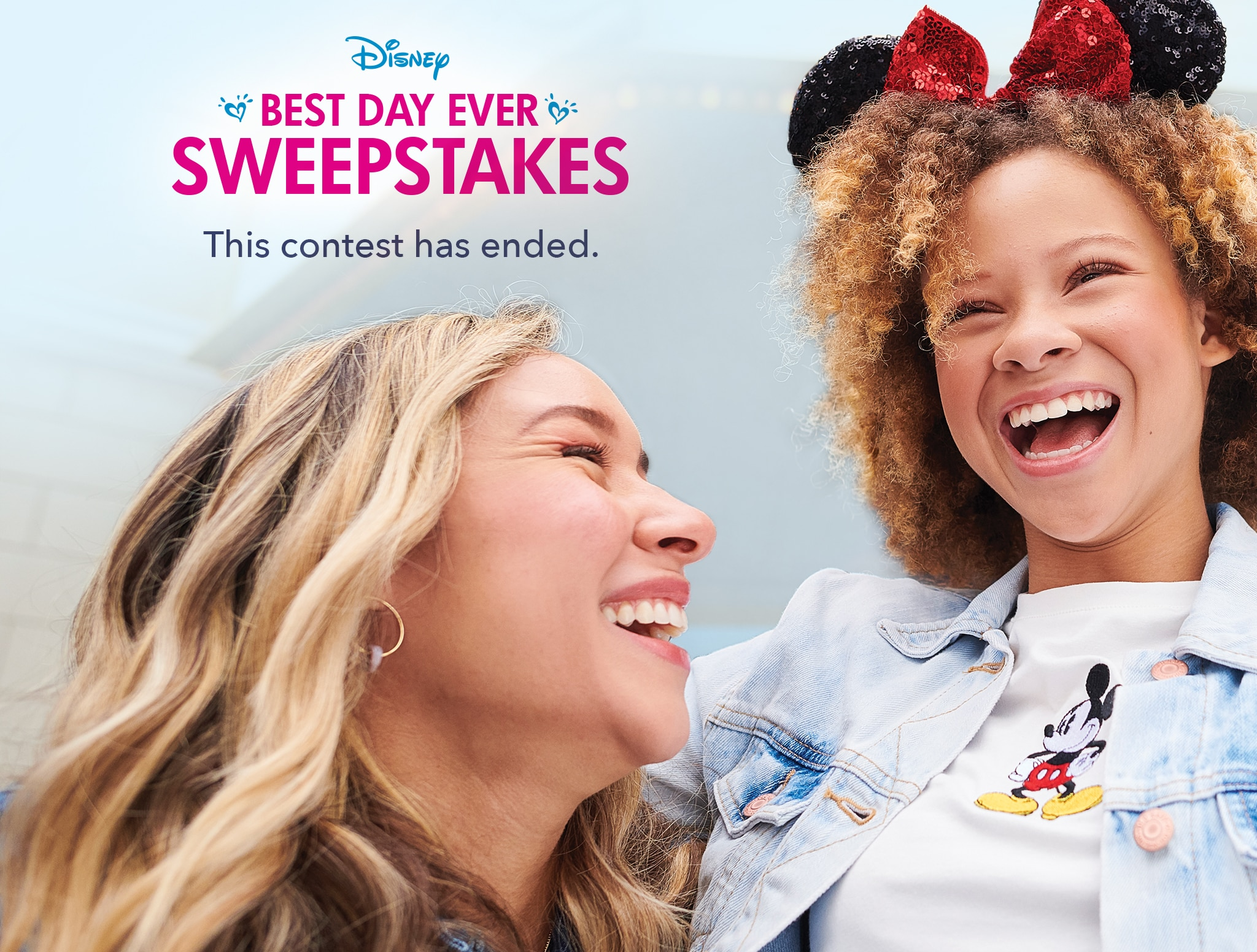 Disney Best Day Ever Sweepstakes. This contest has ended.