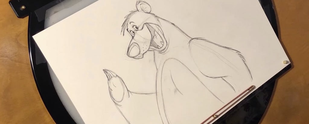 How to Draw Baloo From The Jungle Book