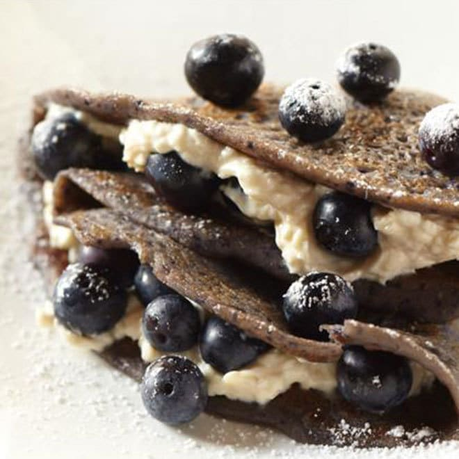 Baloo's Blueberry Crepes
