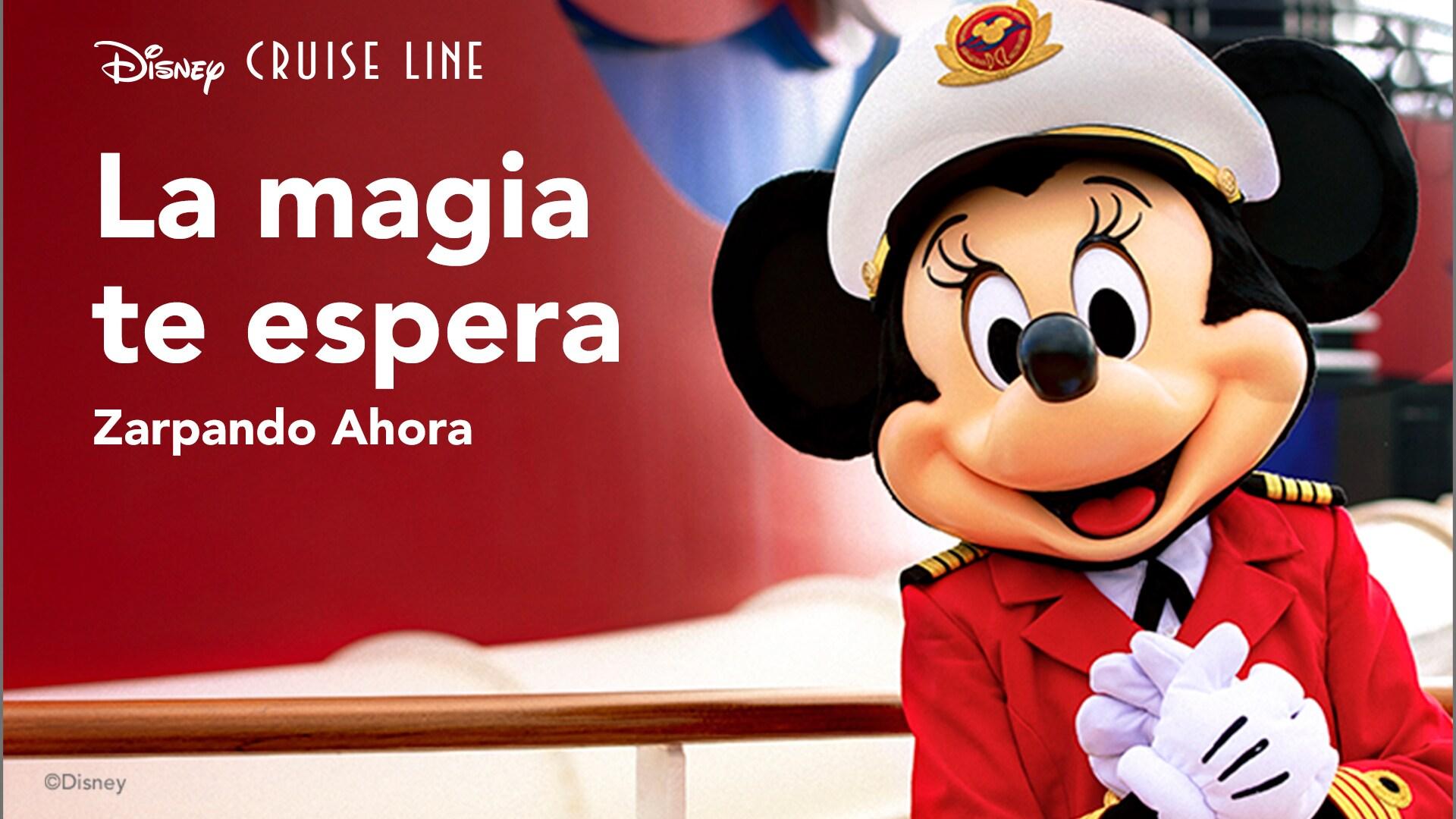 La magia te espera con Disney Cruise Line