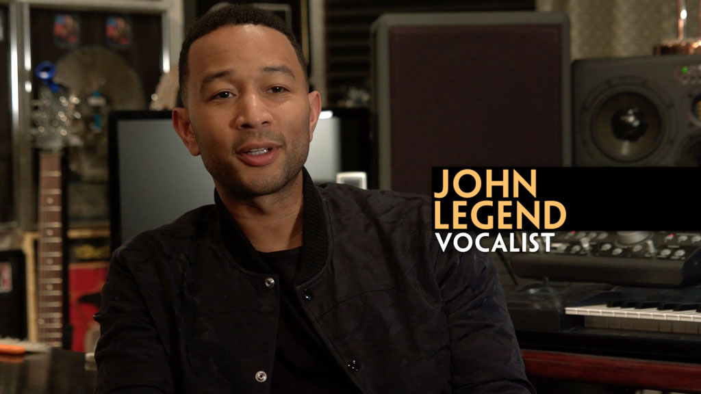 Beauty and the Beast behind the scene - John Legend / Ariana Grande
