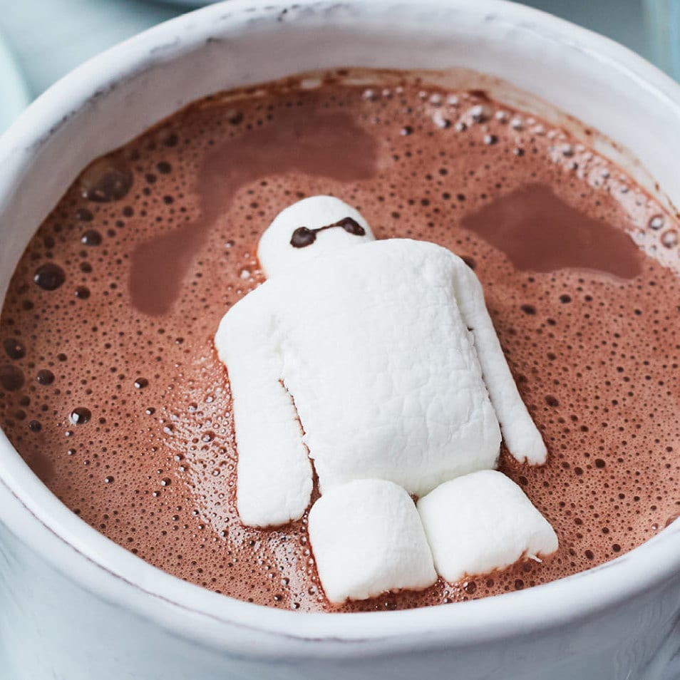 Let Baymax Take Care of Your Family With This Adorable Hot Cocoa