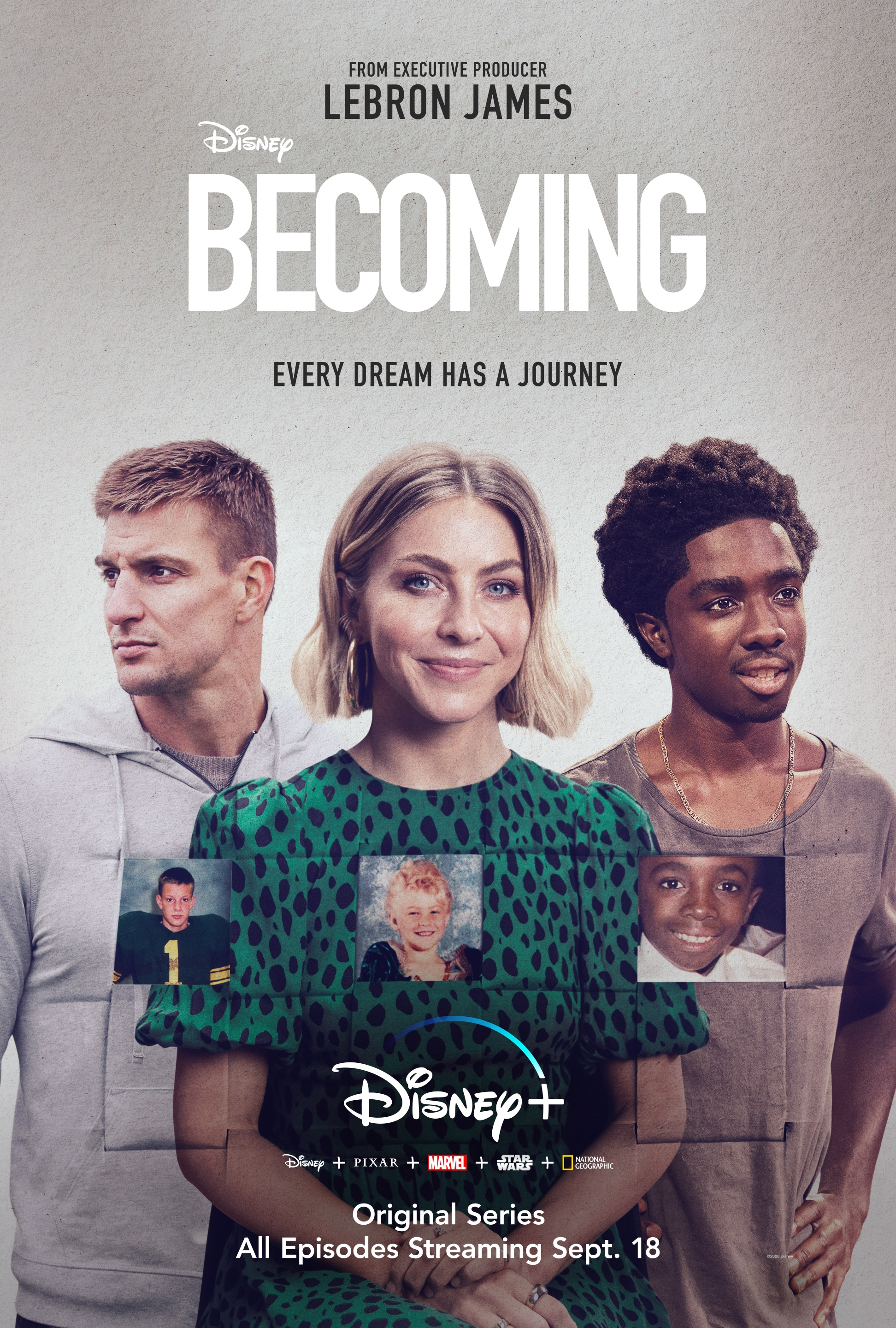 Becoming - a Disney+ Original Series poster