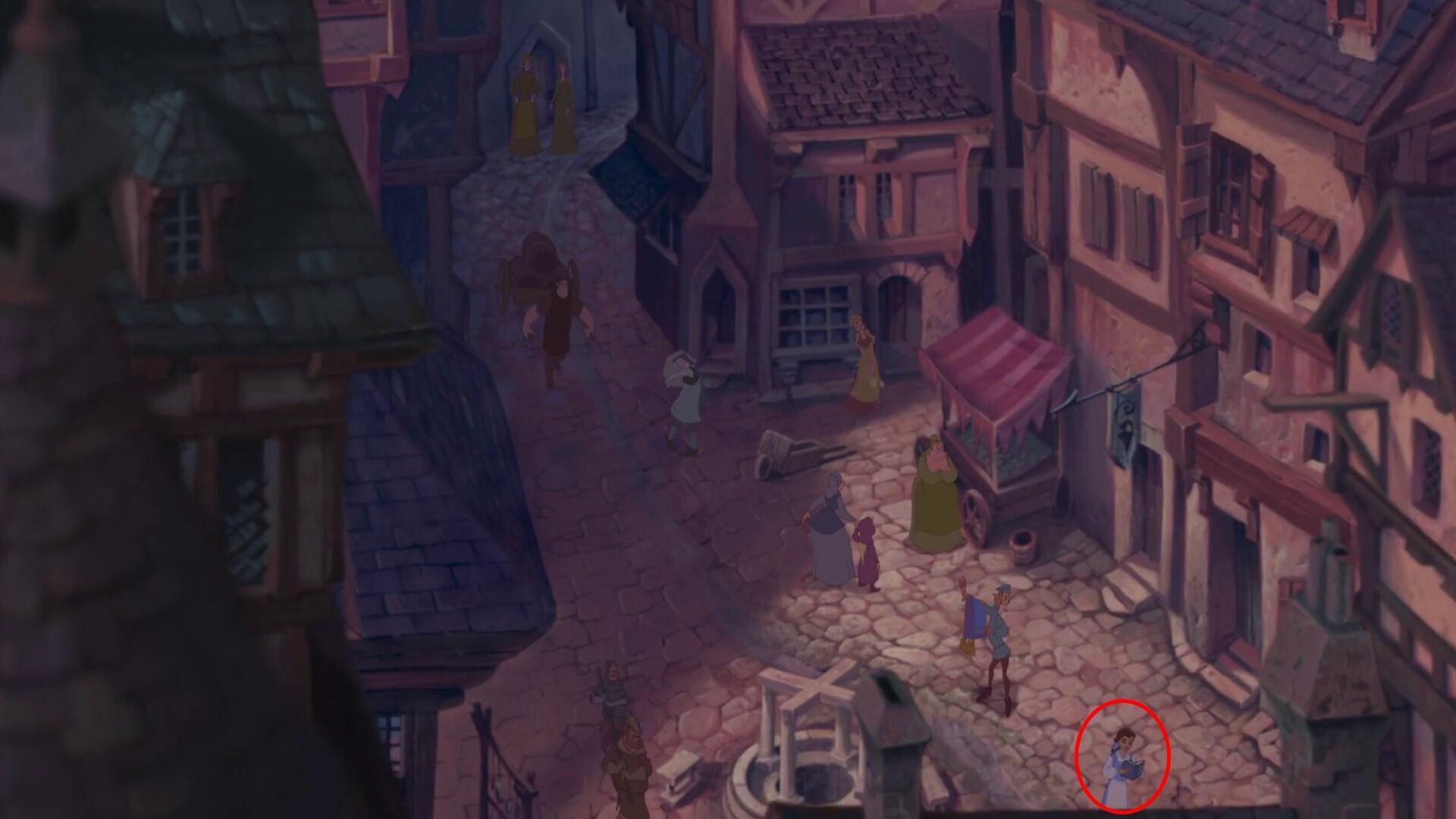 A protagonista de A Bela e a Fera fez uma breve aparição em O Corcunda de Notre-Dame