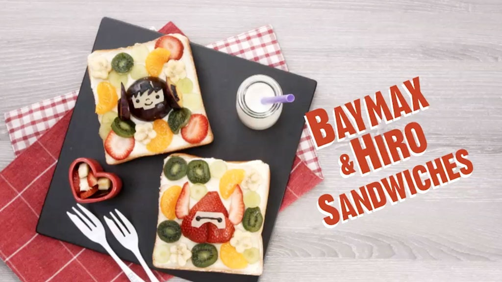Big Hero 6: The Series | Baymax & Hiro Sandwiches | Disney Channel Asia