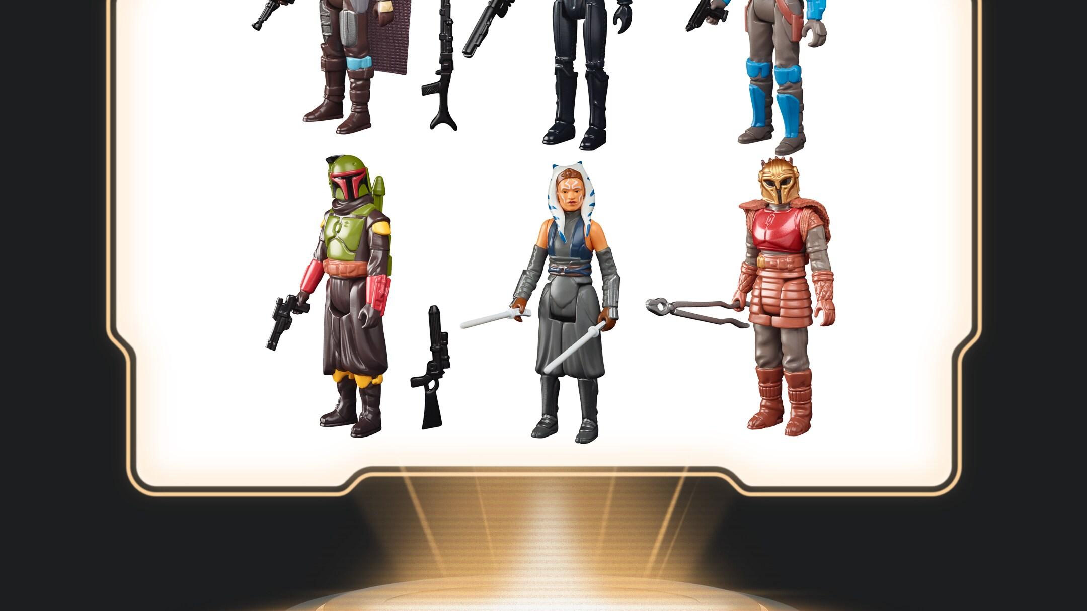 Hasbro - Star Wars Retro Collection The Mandalorian Assortment