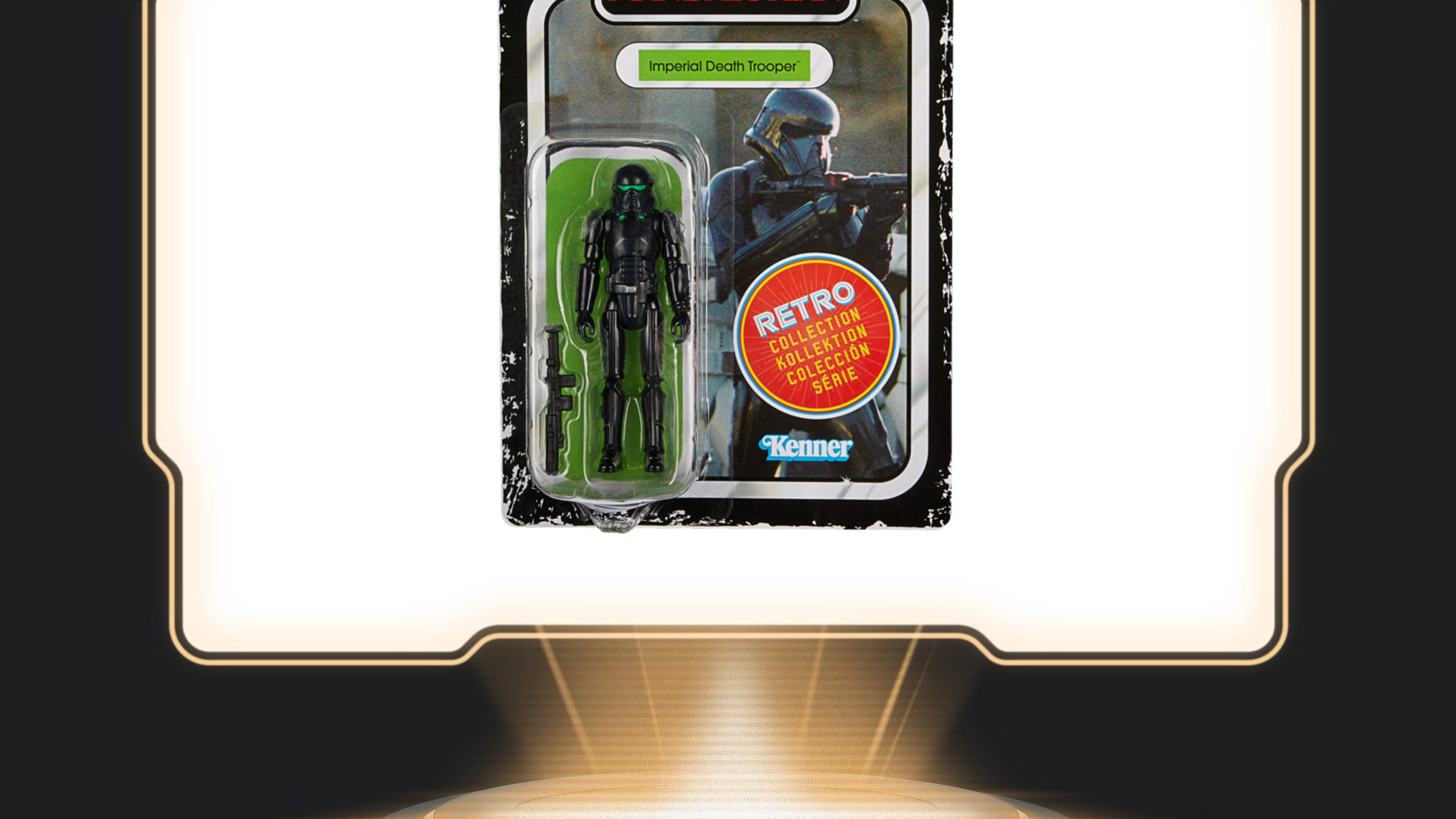 Hasbro - Star Wars: The Retro Collection 3.75-inch Imperial Death Trooper Figure