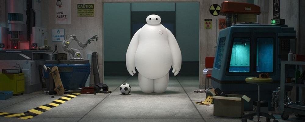 "Baymax from the animated movie ""Big Hero 6"""