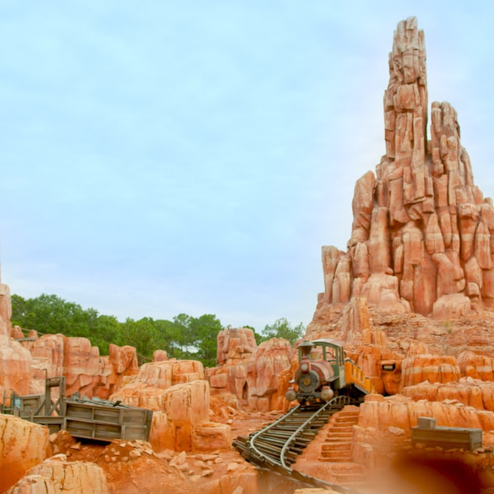 Experience Big Thunder Mountain Railroad at Walt Disney World From Home in This Wild Virtual Ride