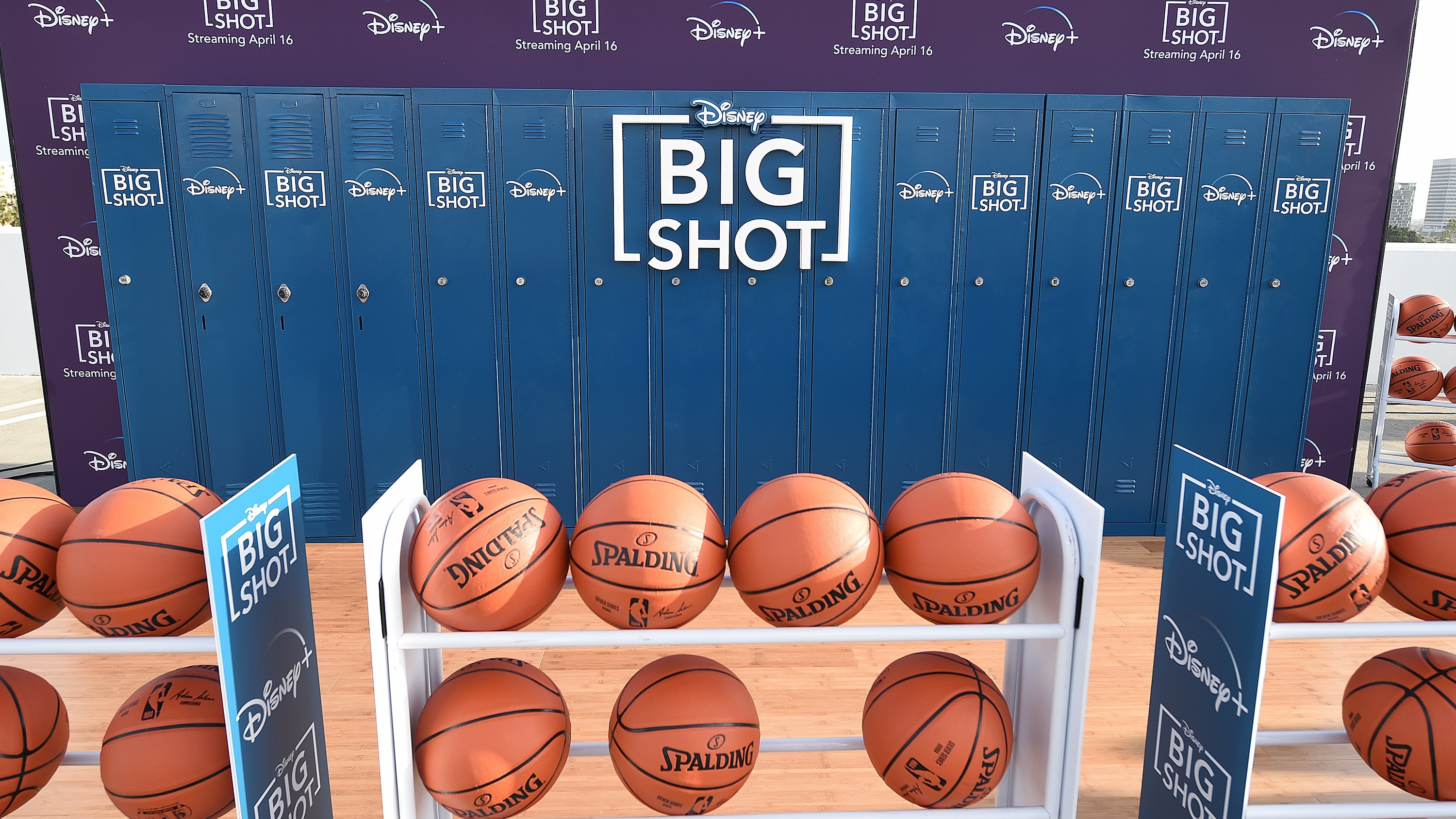 LOS ANGELES, CA - APRIL 14: Disney + hosted the world premiere drive-in screening of the original series ìBIG SHOTî at The Grove in Los Angeles, California on April 14, 2021. (Photo by Frank Micelotta/Disney +/PictureGroup)