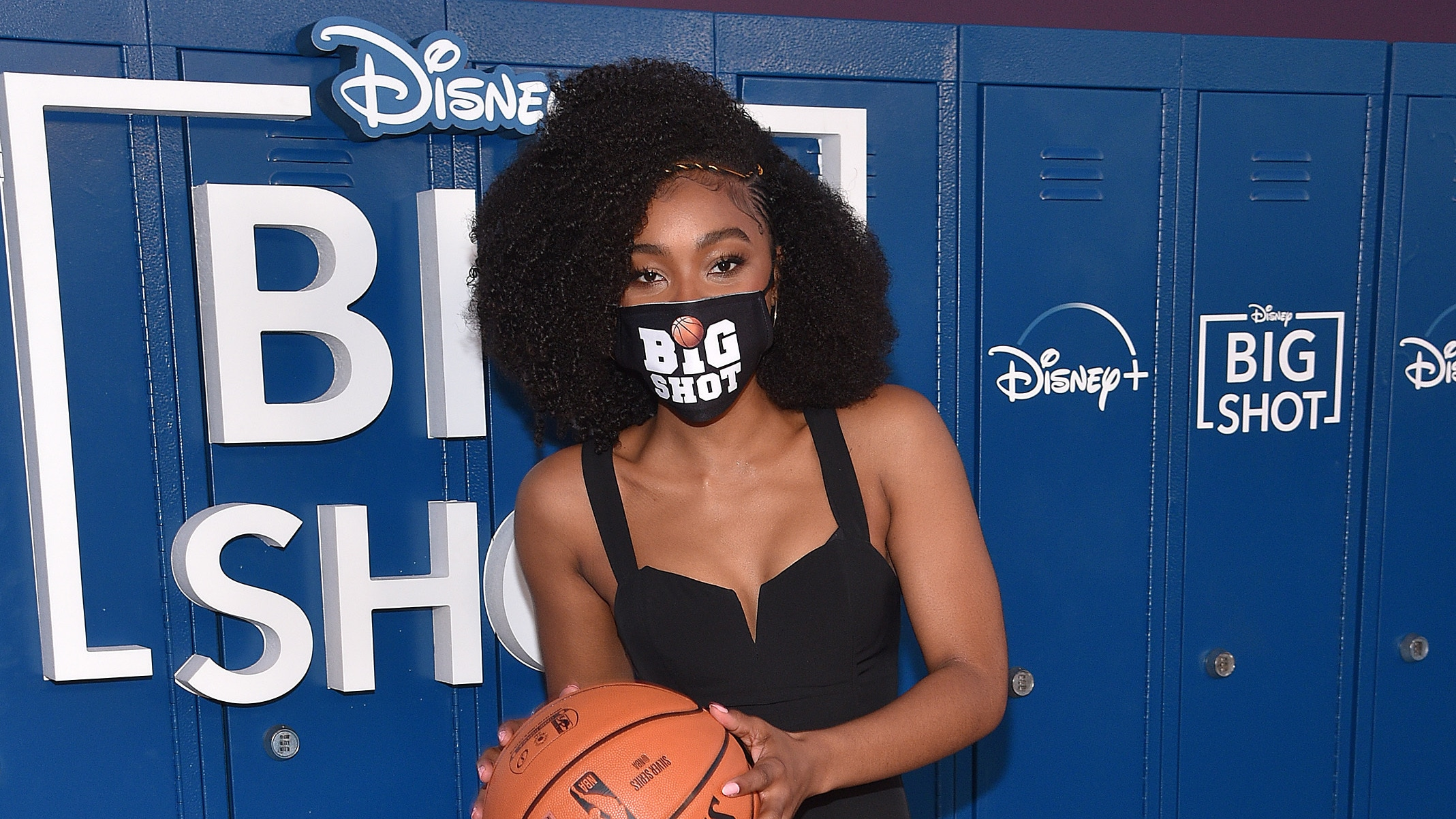 LOS ANGELES, CA - APRIL 14: Monique Green attends the world premiere drive-in screening of the Disney + original series ìBIG SHOTî at The Grove in Los Angeles, California on April 14, 2021. (Photo by Stewart Cook/Disney +/PictureGroup)