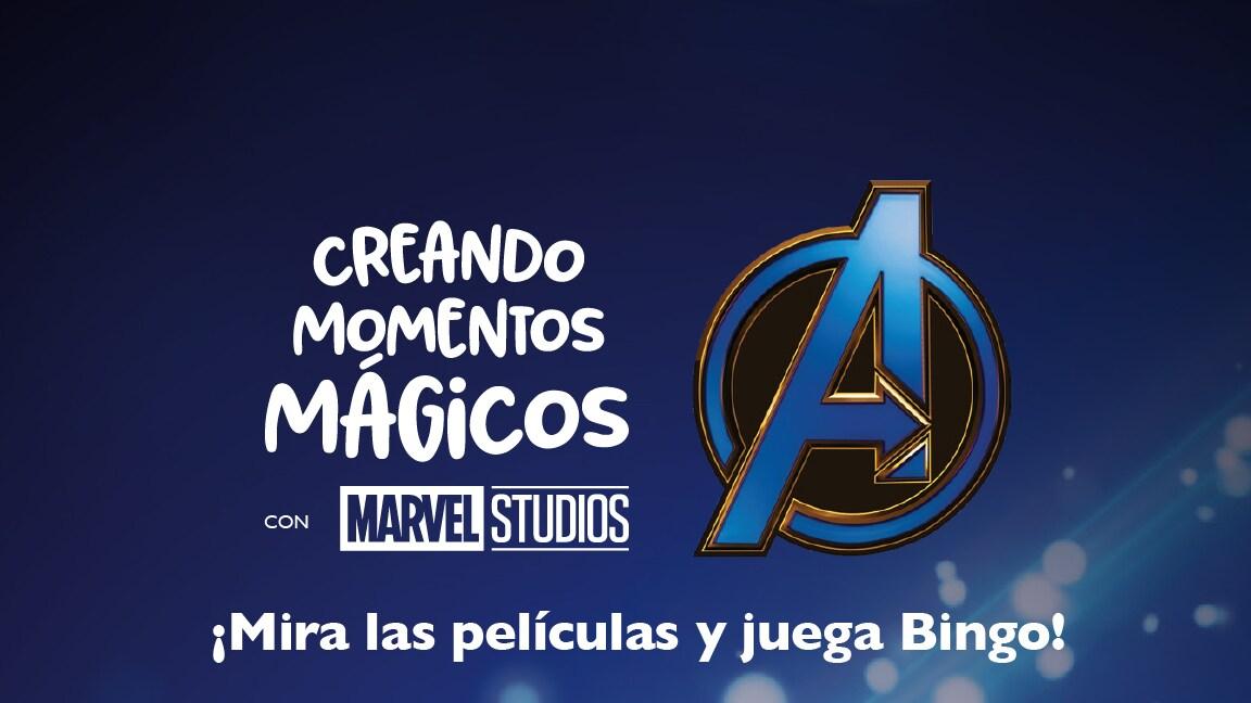 ¡A Jugar en familia con este Bingo de Avengers!
