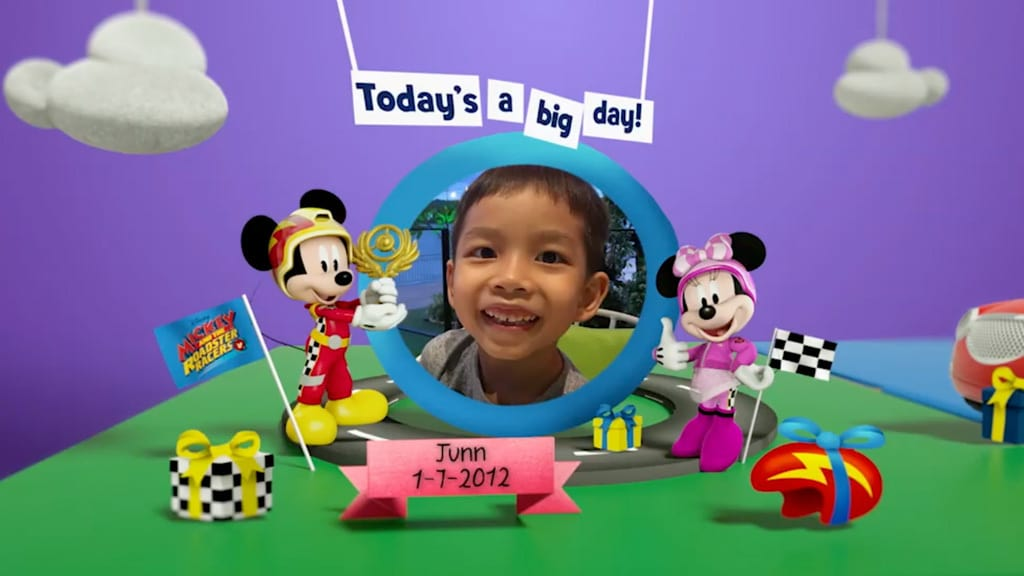 Disney Junior Birthday Book 2019 July Album 2