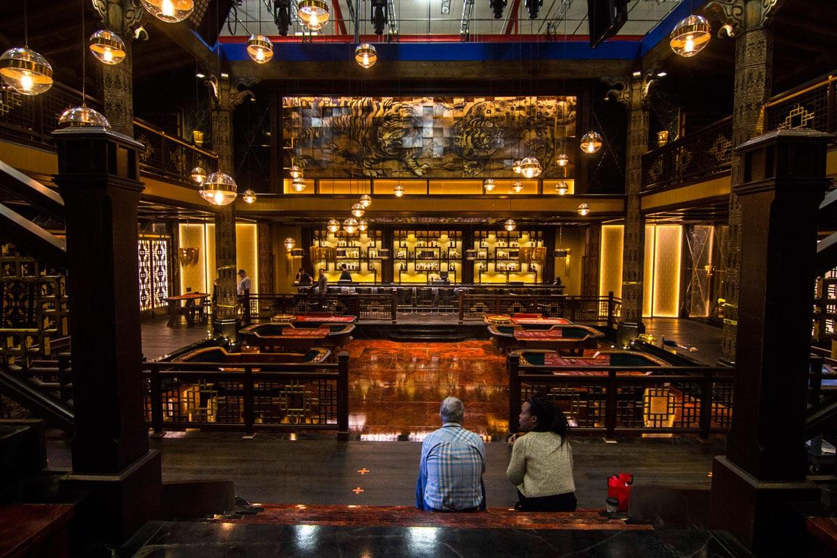 Black Panther Casino Set